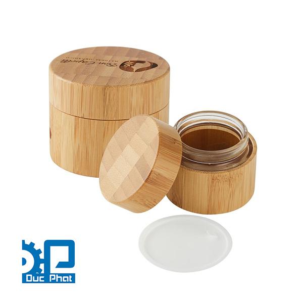 Vỏ hũ chất liệu Tre bamboo tự nhiên