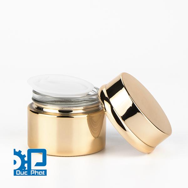 Vỏ hũ cao cấp UV Rose Gold , White Gold Luxuruy