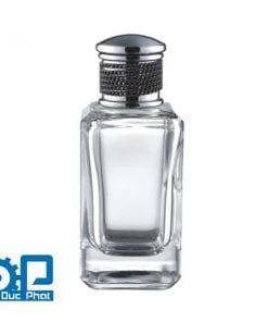 Chai nước hoa thủy tinh vuông