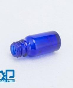 Chai tinh dầu thủy tinh xanh thẫm