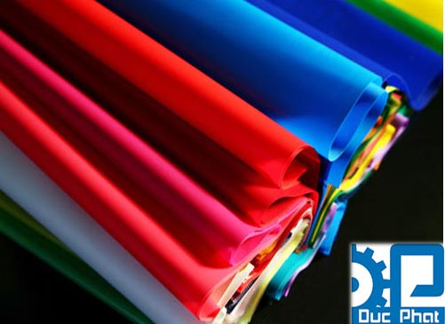 Màng PVC màu sắc khác nhau - Bao bi Đức Phát