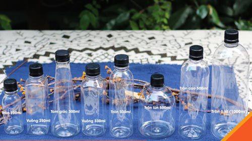 Mua chai nhựa pet đẹp chất lượng cần biết những gì