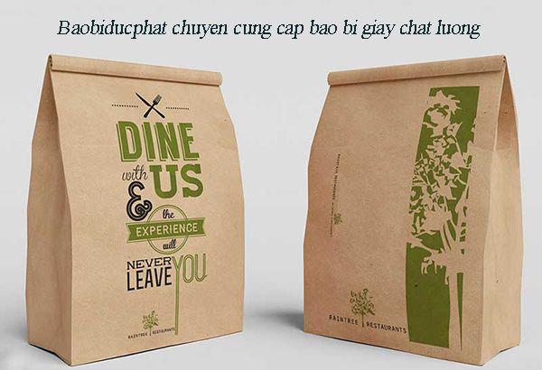 Vỏ bao bì giấy phù hợp với các sản phẩm bảo vệ môi trường