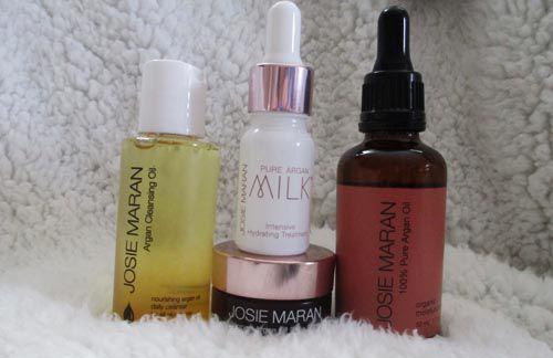 Set quà tặng Josie Maran Nourishing Argan Oil Skincare Collection