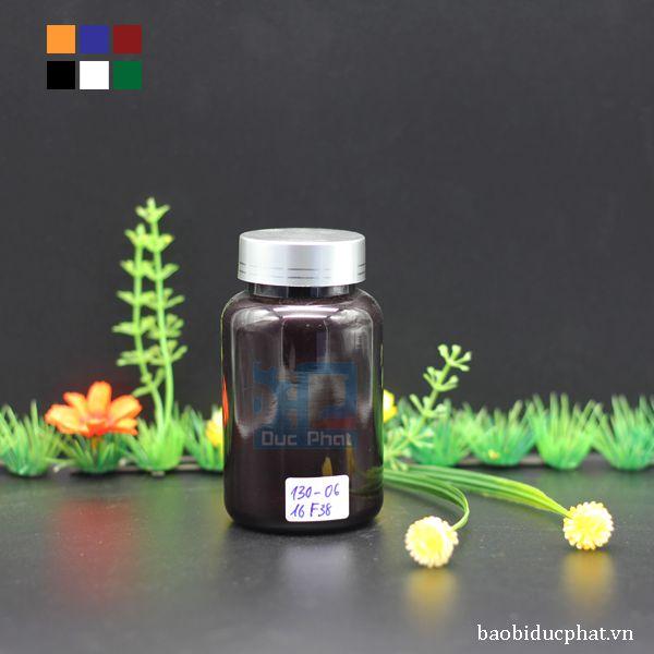 Chai dược phẩm nâu 130 ml (3)