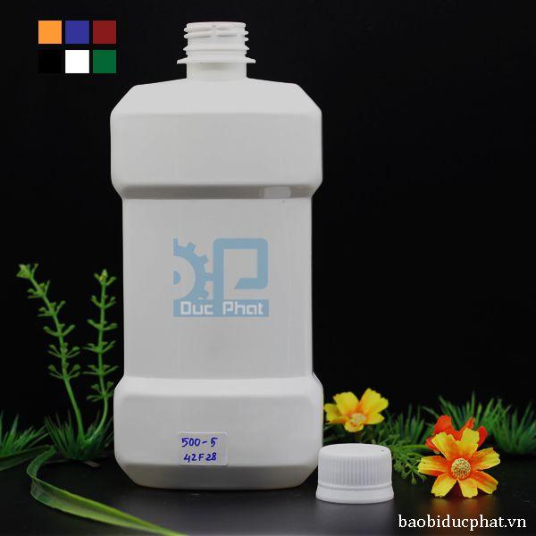 Chai nhựa dẹt