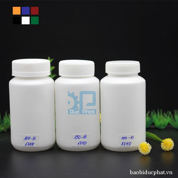 Lọ HDPE 150 ml