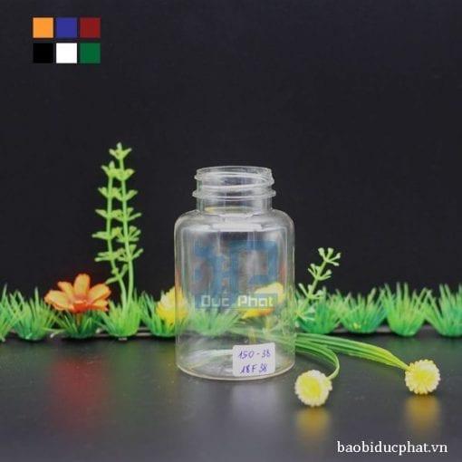 Lọ nhựa trong 150ml (2)
