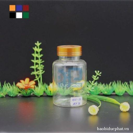 Lọ nhựa trong 150ml (4)