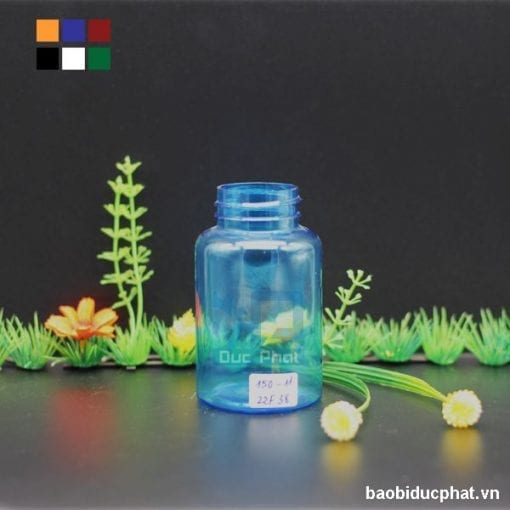 Lọ nhựa trong 150ml (5)