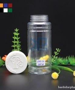 Lọ pet trong suốt 300 ml (2)