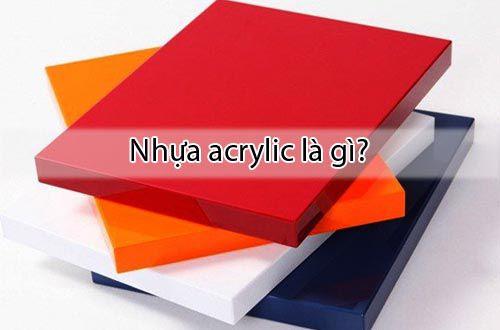Nhựa acrylic là gì - Ưu điểm và ứng dụng của nhựa Acrylic