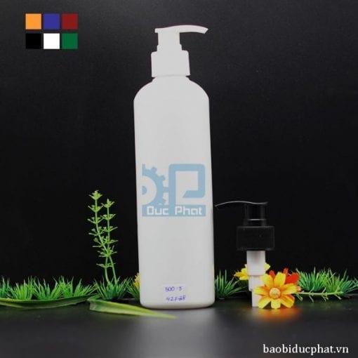 chai nhựa có vòi xịt 500ml (3)