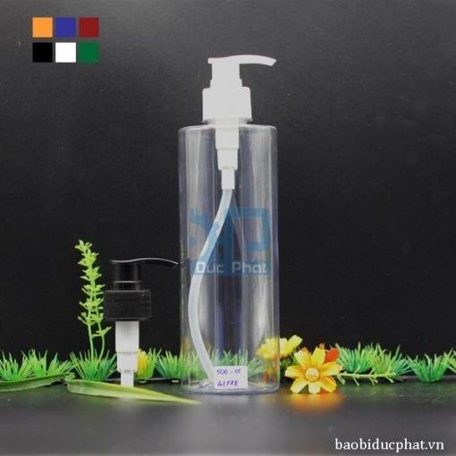 Chai nhựa có vòi xịt 500ml