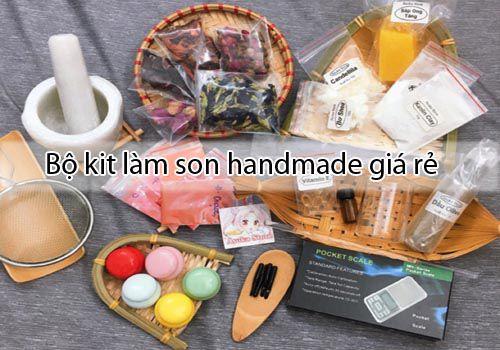 Đặc điểm của bộ kit làm son handmade giá rẻ