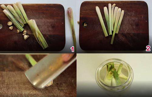 Các bước làm tinh dầu sả tại nhà đơn giản nhất
