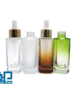Chai dầu thủy tinh sang chảnh 30ml (2)