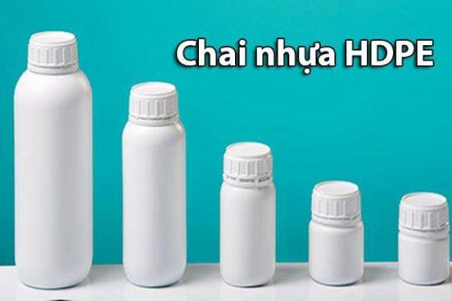 Chai lọ nhựa HDPE là gì