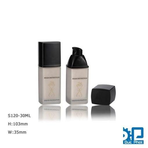 Chai mỹ phẩm 30ml nắp ấn (5)