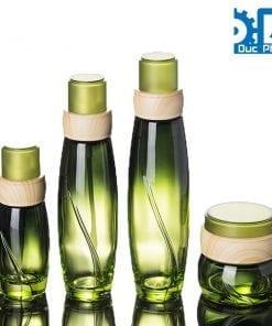 Chai mỹ phẩm thủy tinh tùy chọn thể tích (4)