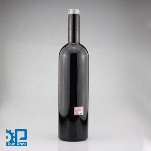 Chai thủy tinh đen đựng dầu ô liu (2)