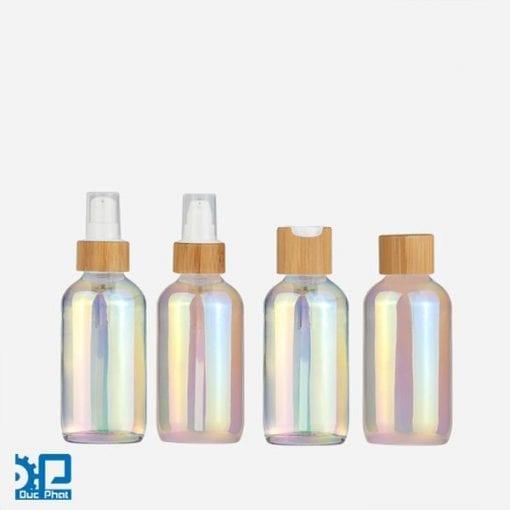 Chai thủy tinh nhiều màu sắc (4)