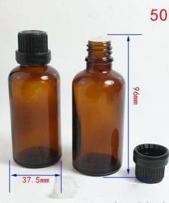 Chai thủy tinh 50ml đựng tinh dầu