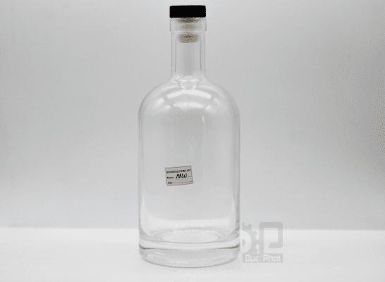 chai thủy tinh đựng rượu RD500