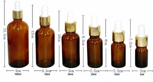 Những lý do khiến bạn nên dùng chai lọ thủy tinh đựng tinh dầu