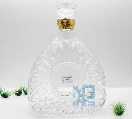 Chai thủy tinh đựng rượu XO750